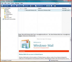 windows mail7 300x258 Installare Windows Mail su Windows 7